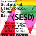 sculptural electronic sound Discs